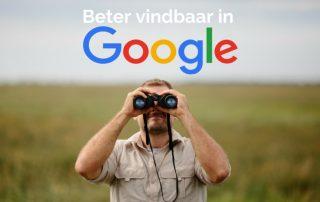 beter vindbaar in Google