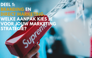Branding vs marketing deel 1