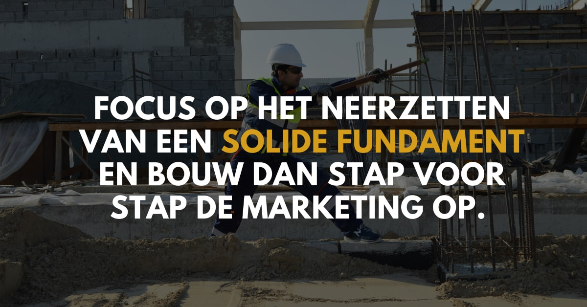 solide marketing fundament